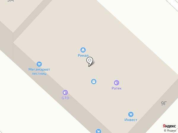 Инвест на карте Маймы