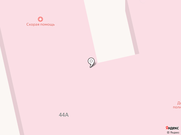 Скорая медицинская помощь на карте Маймы