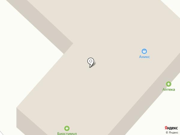 Биостимул на карте Маймы