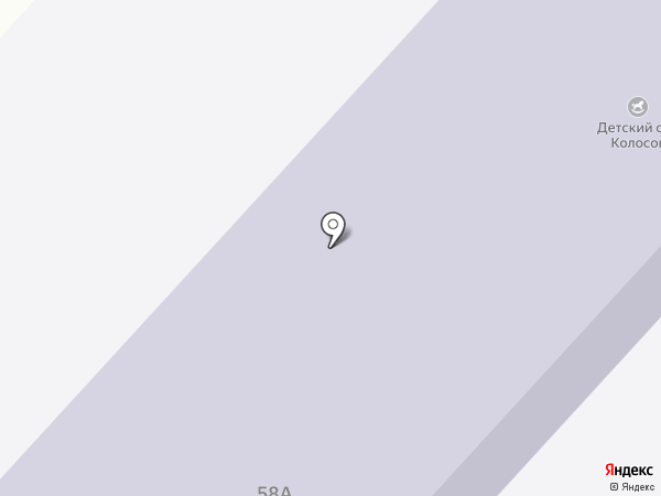 Колосок на карте Маймы
