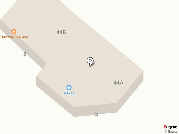 Светлое-Темное на карте Маймы
