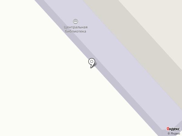 Межпоселенческая центральная библиотека на карте Маймы