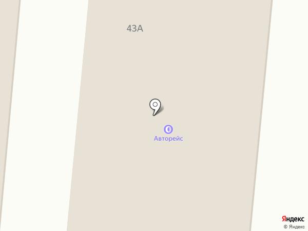 Авторейс на карте Маймы