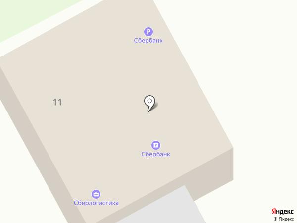 Банкомат, Сбербанк России на карте Маймы