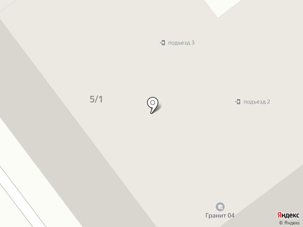 Колос на карте Горно-Алтайска