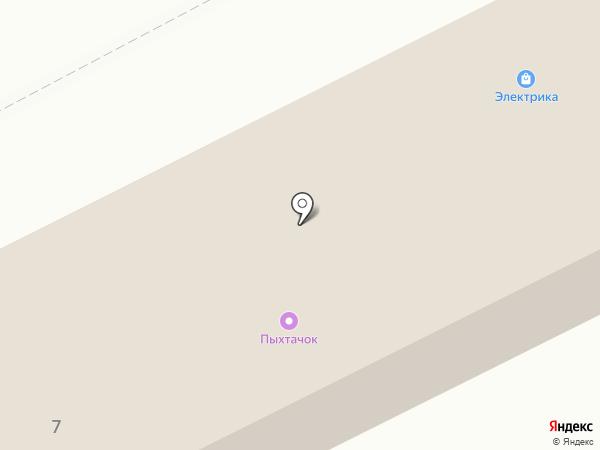Наш на карте Маймы