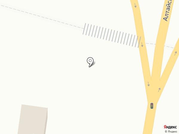 Киоск по ремонту обуви на карте Маймы