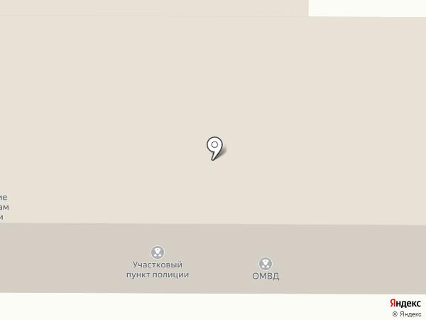 Участковый пункт полиции на карте Маймы