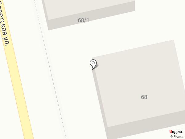 Радуга на карте Маймы
