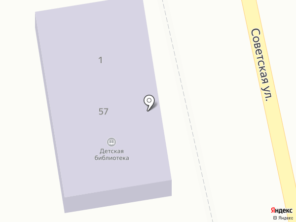 Сельская библиотека на карте Маймы