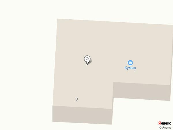 Кумир на карте Маймы