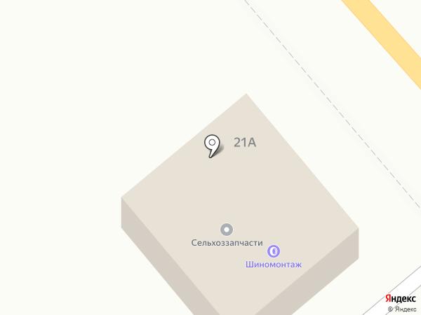Шиномонтажная мастерская на карте Горно-Алтайска
