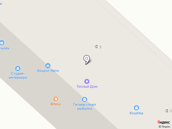 Иверия на карте Горно-Алтайска