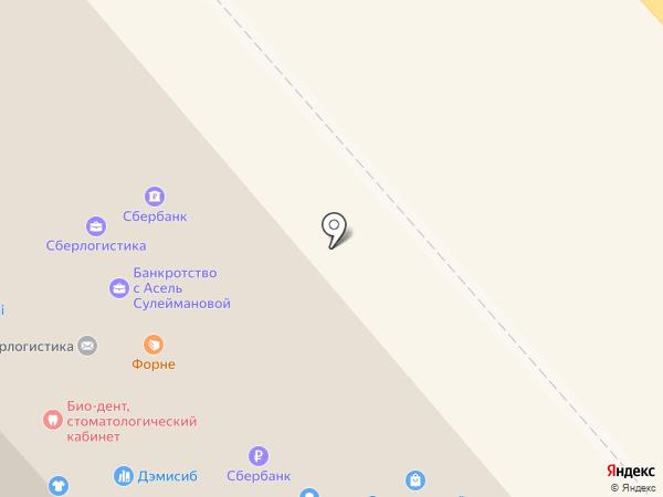 Чалын на карте Горно-Алтайска