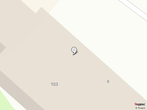 Гефест-04 на карте Горно-Алтайска
