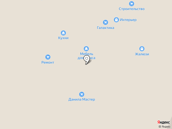 Данила Мастер на карте Горно-Алтайска