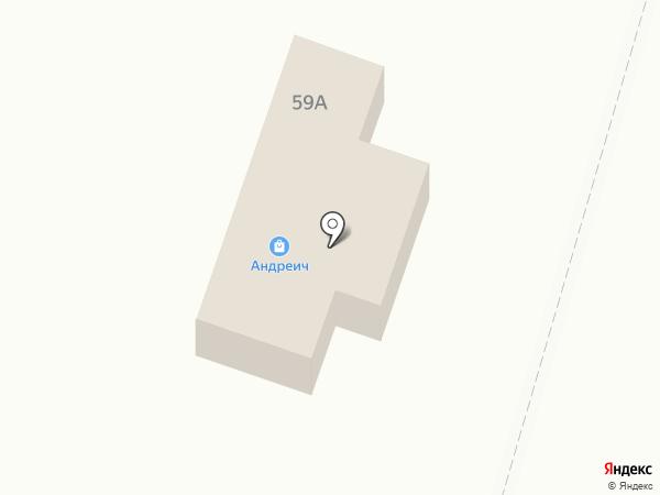 Белый аист на карте Маймы