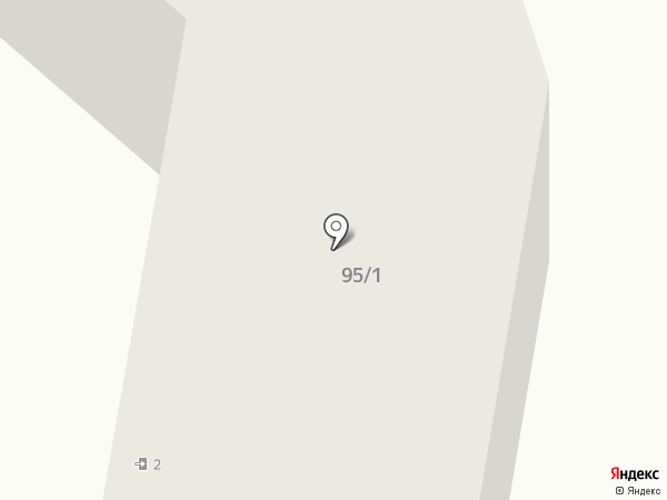 Кружка на карте Горно-Алтайска