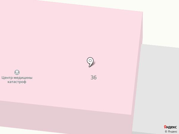 Центр медицины катастроф Республики Алтай на карте Горно-Алтайска