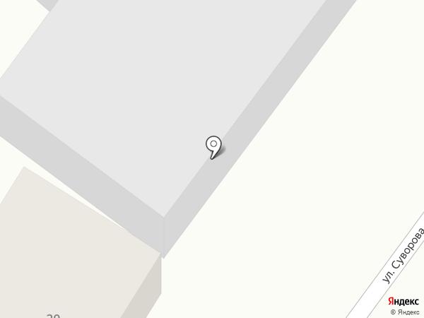 Шиномонтажная мастерская на карте Гурьевска