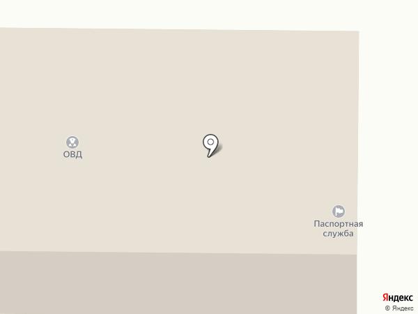 Отдел МВД России по Гурьевскому району на карте Гурьевска
