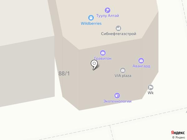 Бизнес-центр на карте Горно-Алтайска