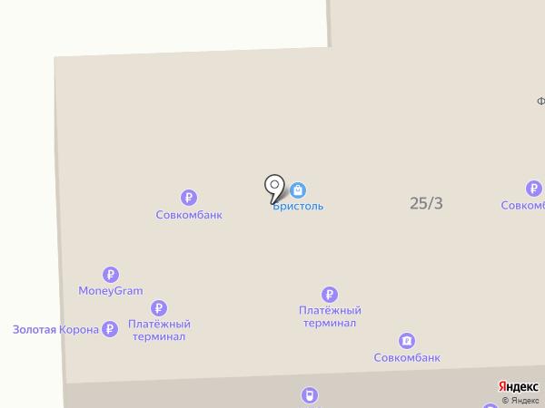 Связной на карте Гурьевска