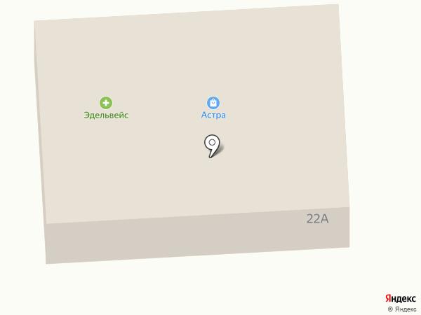 Вино-водочный магазин на карте Гурьевска
