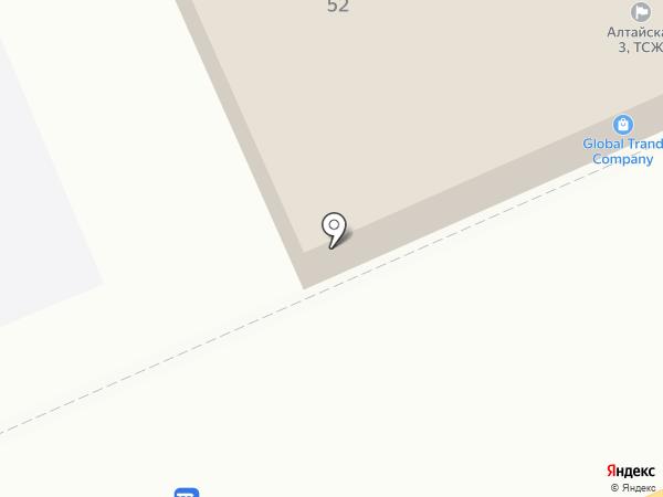 Кружевной бутик на карте Горно-Алтайска