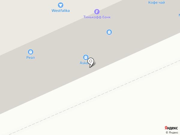 Реал на карте Горно-Алтайска