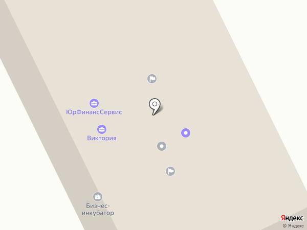 Эгида на карте Горно-Алтайска