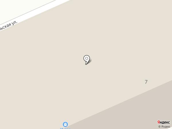 Интер на карте Горно-Алтайска