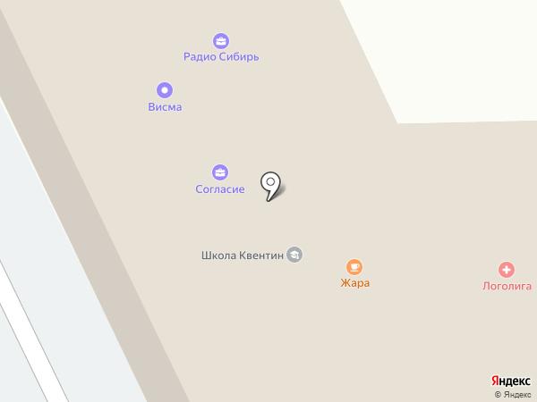 Спасские ворота-М на карте Горно-Алтайска