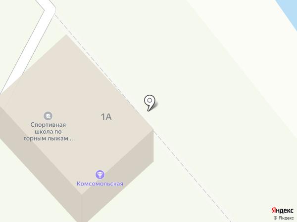 СДЮСШ по горным лыжам и сноуборду г. Горно-Алтайска на карте Горно-Алтайска