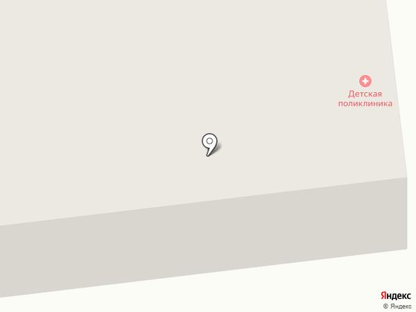 Детская поликлиника на карте Гурьевска