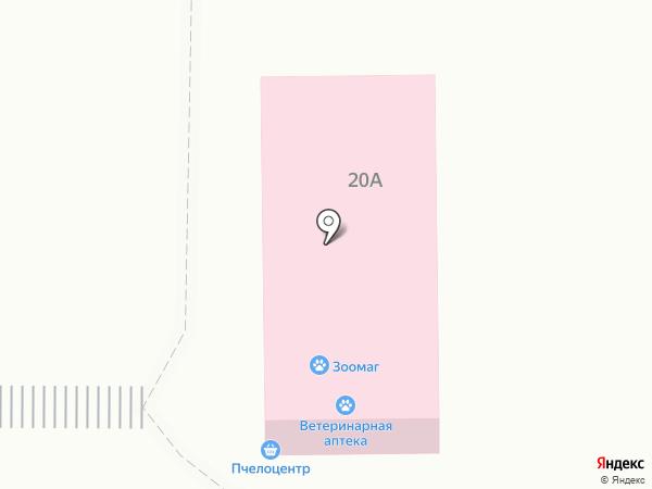 Ветеринарная аптека на карте Горно-Алтайска