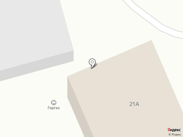 Управление котельных и тепловых сетей на карте Гурьевска