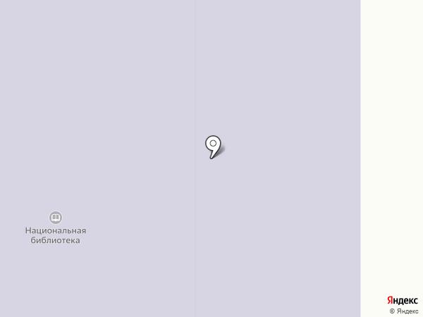 Национальная библиотека Республики Алтай им. М.В. Чевалкова на карте Горно-Алтайска