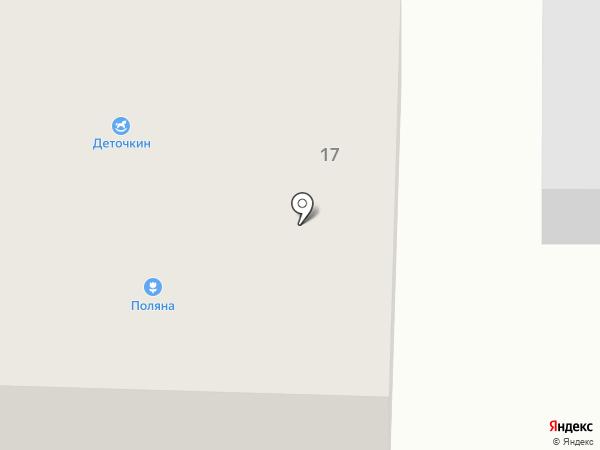 Деточкин на карте Горно-Алтайска