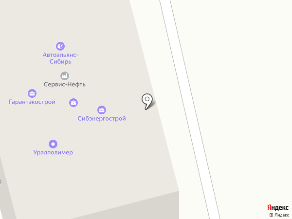 Легион-Д на карте Горно-Алтайска