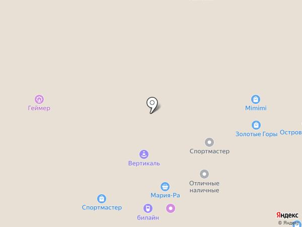 Новый Мир на карте Горно-Алтайска