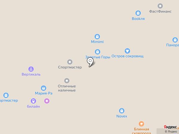 Злата на карте Горно-Алтайска