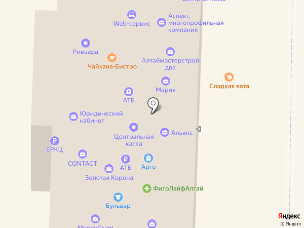 Мейтан на карте Горно-Алтайска