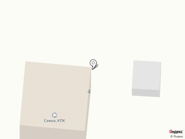 Паутинка на карте Горно-Алтайска