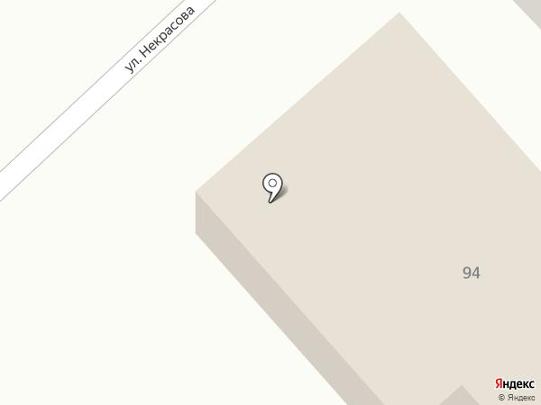 Джин на карте Гурьевска