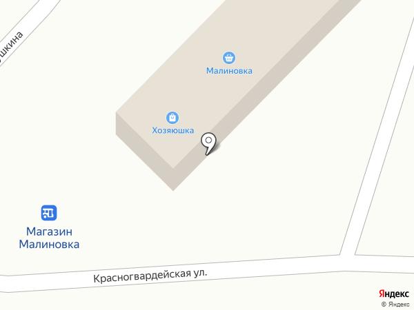 Хозяюшка на карте Горно-Алтайска