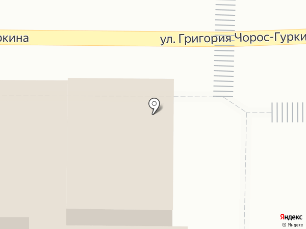 Управление Федеральной почтовой связи Республики Алтай на карте Горно-Алтайска
