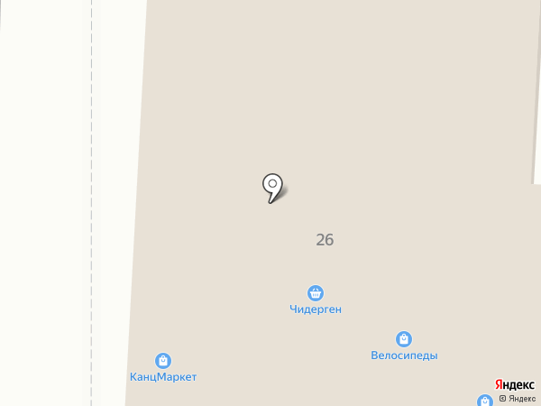 Чедерген на карте Горно-Алтайска