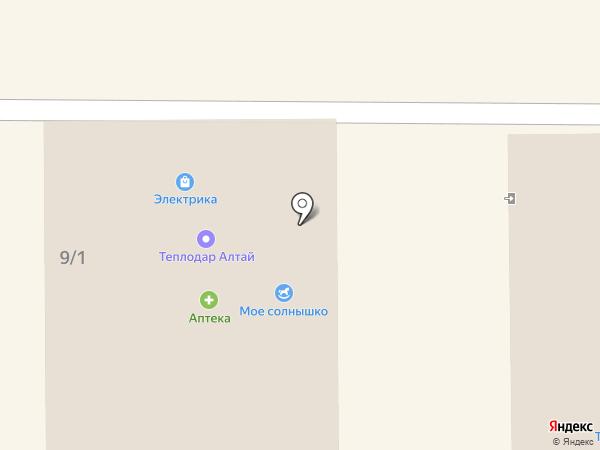 Дом печника на карте Горно-Алтайска
