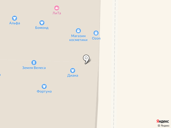 De`Lizza на карте Горно-Алтайска